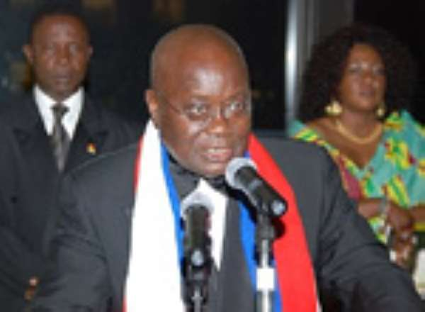Akufo-Addo thanks Ghanaians for voting for NPP